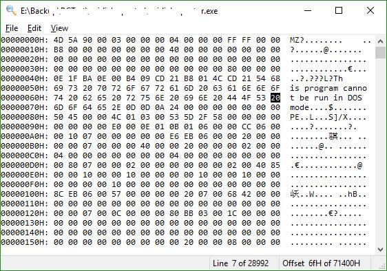 find large files in folder windows